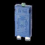 FINDER LED + Diode module, 6-24Vdc for 95.75SMA bases