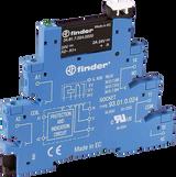 FINDER 38 Series 1 Pole Slimline 24V DC SSR Relay & Base, 2A