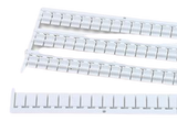 FINDER marker tags for 38.51/38.81 series Relay & Base, 64 tags
