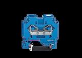 WAGO WAGO 2 conductor terminal, blue 6mm