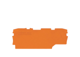 WAGO endplate for 2002-1971/4/2, orange