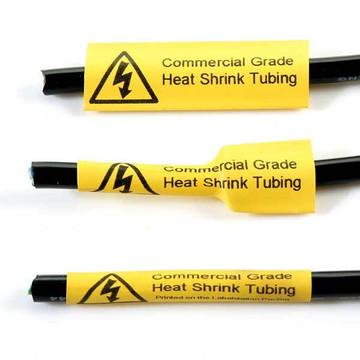 WAGO SmartPRINTER Yellow Heat Shrink Tubing (4.80mm, 30m roll)