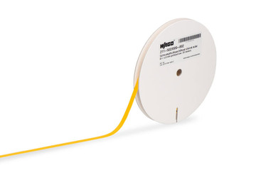WAGO SmartPRINTER Yellow Heat Shrink Tubing (19.10mm, 30m roll)
