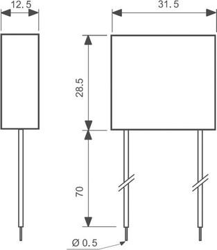 FINDER power adaptor, for 26 series, 12V