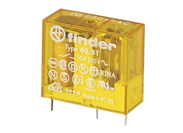 FINDER 40 Series 2Pole 8Pin 8Amp 110 V AC Relay