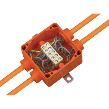 Spelsberg WKE 2 Fire Rated Junction Box c/w 5 x 6mm² Terminals