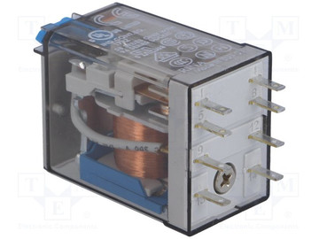 FINDER 55 Series 2 Pole 8 Pin 10Amp 24V DC Relay