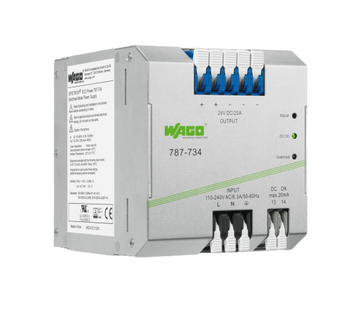 WAGO EPSITRON® ECO Power Supply Unit 24VDC 20Amp Version