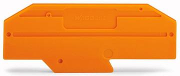 WAGO endplate for 282-697/5, orange