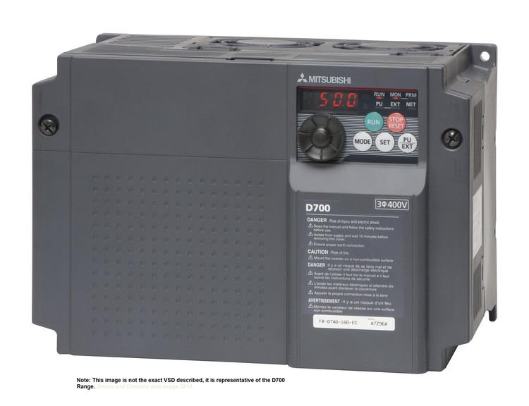 MITSUBISHI D740 5.5kW VSD