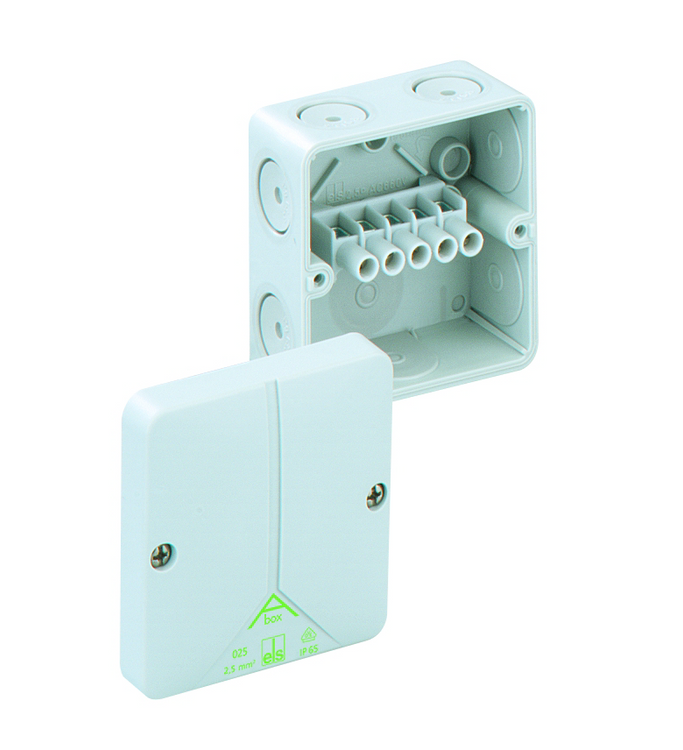 SPELSBERG Abox 025 Junction Box with 5 x 2.5mm² Terminals