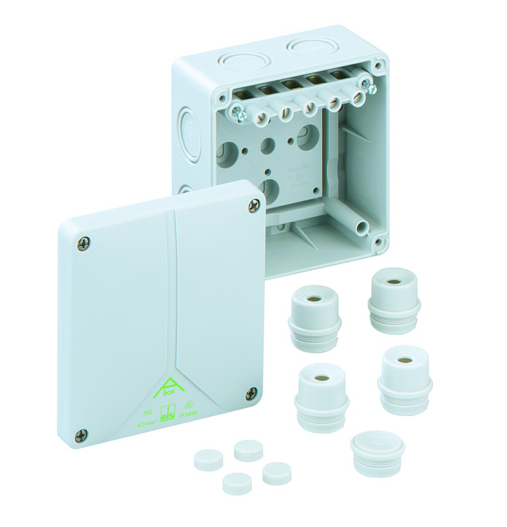 SPELSBERG Abox 060 Junction Box with 5 x 6mm² Terminals