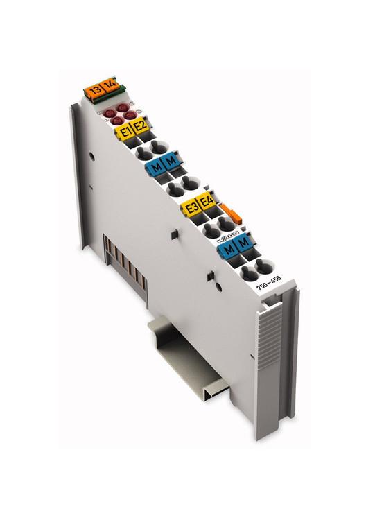 Wago 750-455 4 Channel 4-20mA Analog Input Module
