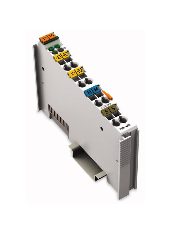 Wago 750-456 2 Channel +/- 10V DC Analog Input Module