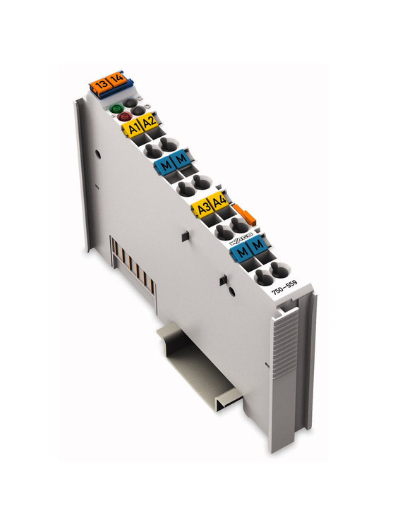 Wago 750-559  4 Channel 0-10VDC Analog Output Module