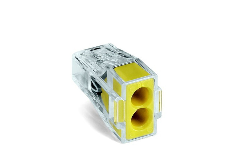 Wago 773-102 - Push Wire Connector for junction boxes, 2 conductor, Box qty 100