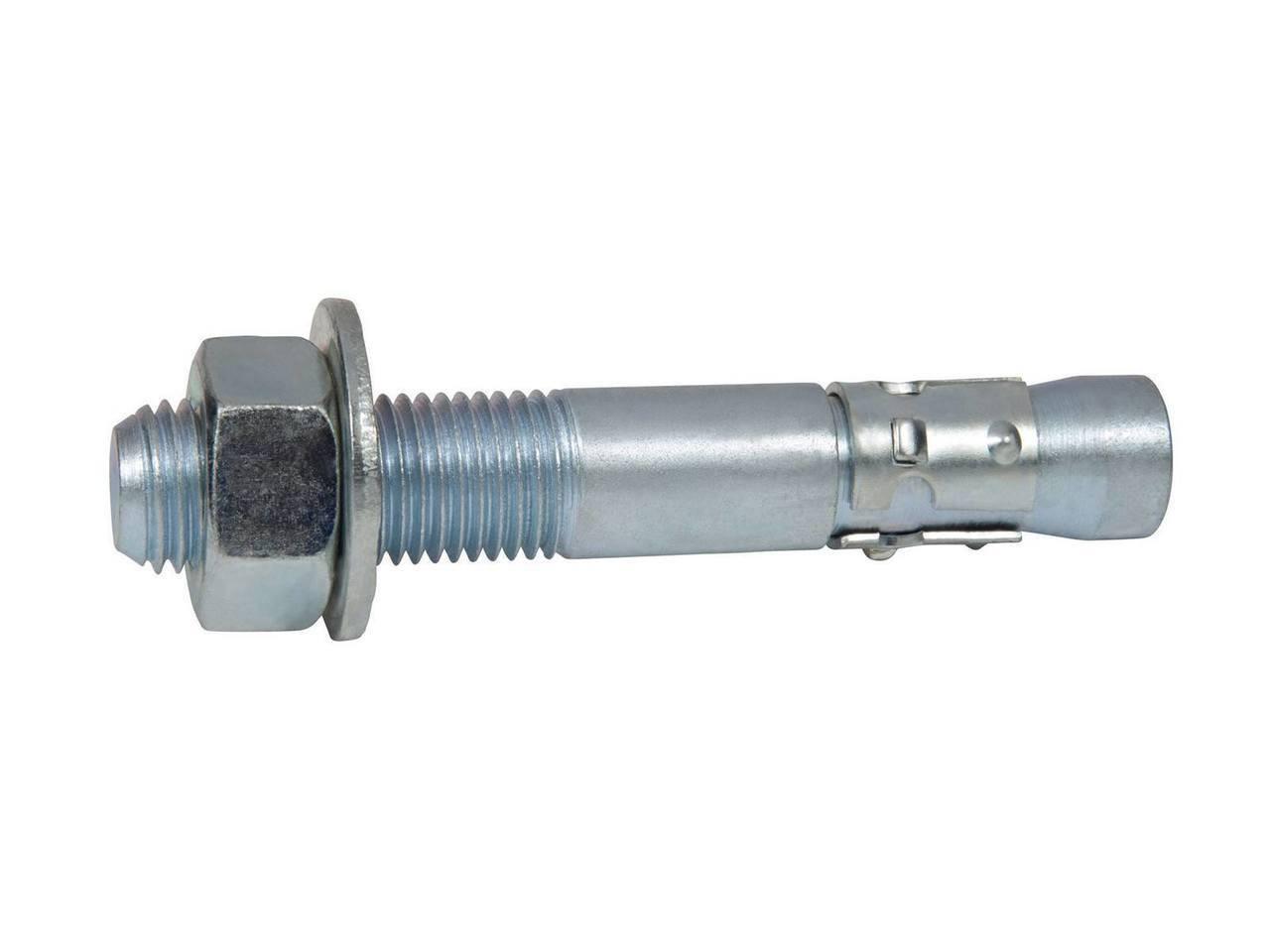 1//4-20 X 2 Zinc Plated Threaded Rod Studs Box of 100