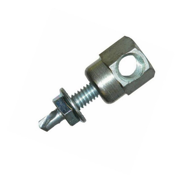 """Picture of Sammys® 3/8"""" Horizontal Threaded Rod Anchor for Steel, 3/8""""-16 Rod Size, 1/4""""-20 x 1 Screw Size - SWDR 1 - 8055957, 25/Box"""