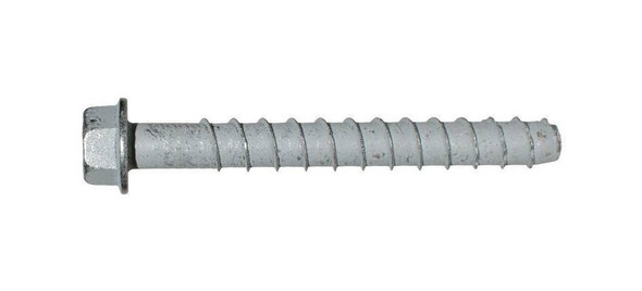 """Picture of 1/2"""" x 6"""" Simpson Strong-Tie Titen HD Screw Anchor Mechanically Galvanized, 20/Box"""