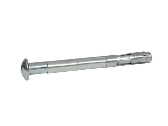 """Picture of 1/4"""" x 1-1/4"""" Round Slotted Sleeve Anchor Zinc Plated, 100/Box"""