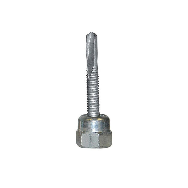 "Picture of Sammys® 1/2"" Vertical Threaded Rod Anchor for Light gauge steel, 1/2""-13 Rod Size, 3/8"" x 1"" Screw Size - DST 2.0 - 8031925, 25/Box"