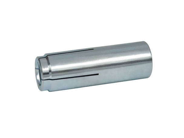 "Picture of 1/2"" Drop-In Anchor Zinc Plated, 50/Box"