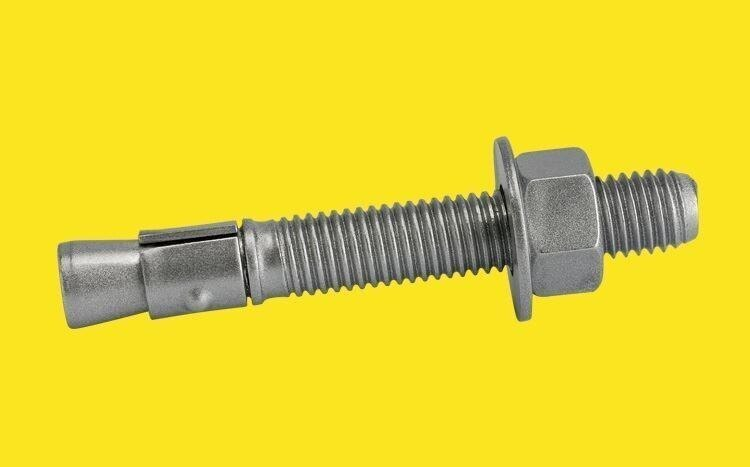 CONFAST 3//8 x 6-1//2 Stainless Steel Wedge Anchor 5 per Box