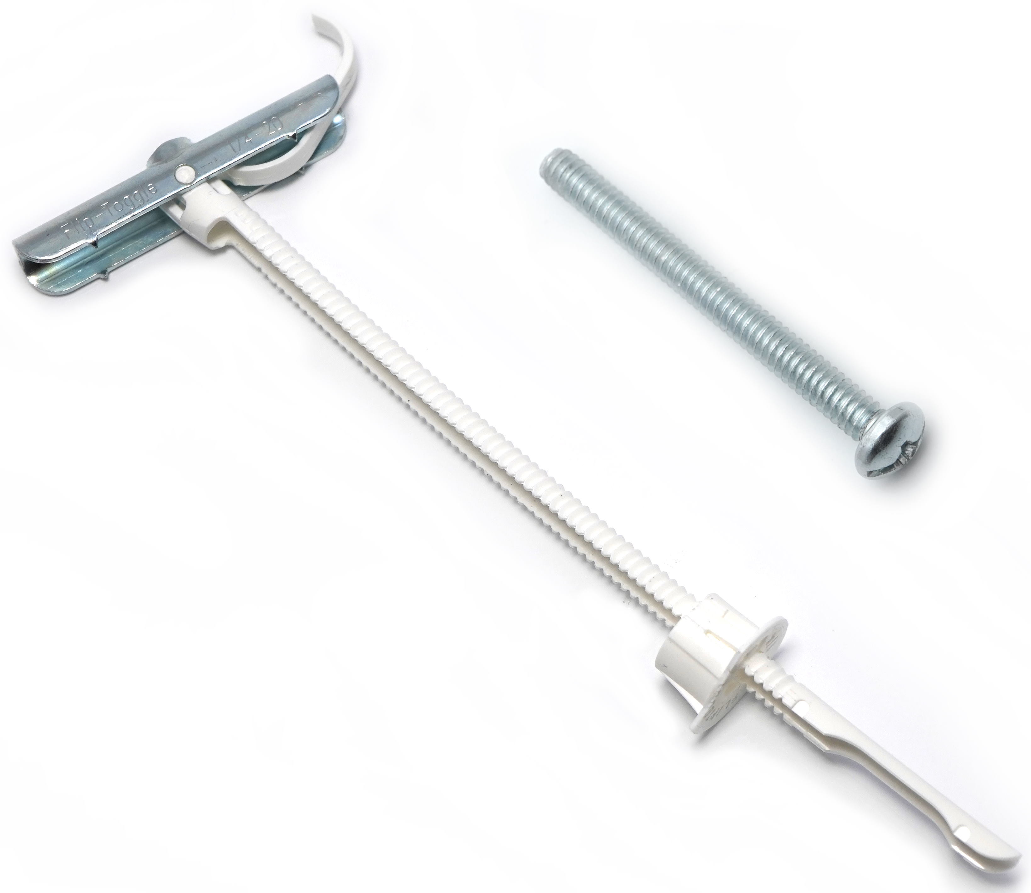 100 Count Simpson Strong-Tie FT25250C25 1//4-20 FlipToggle Anchor with 2-1//2 Bolt 4 Packs // 25 Each