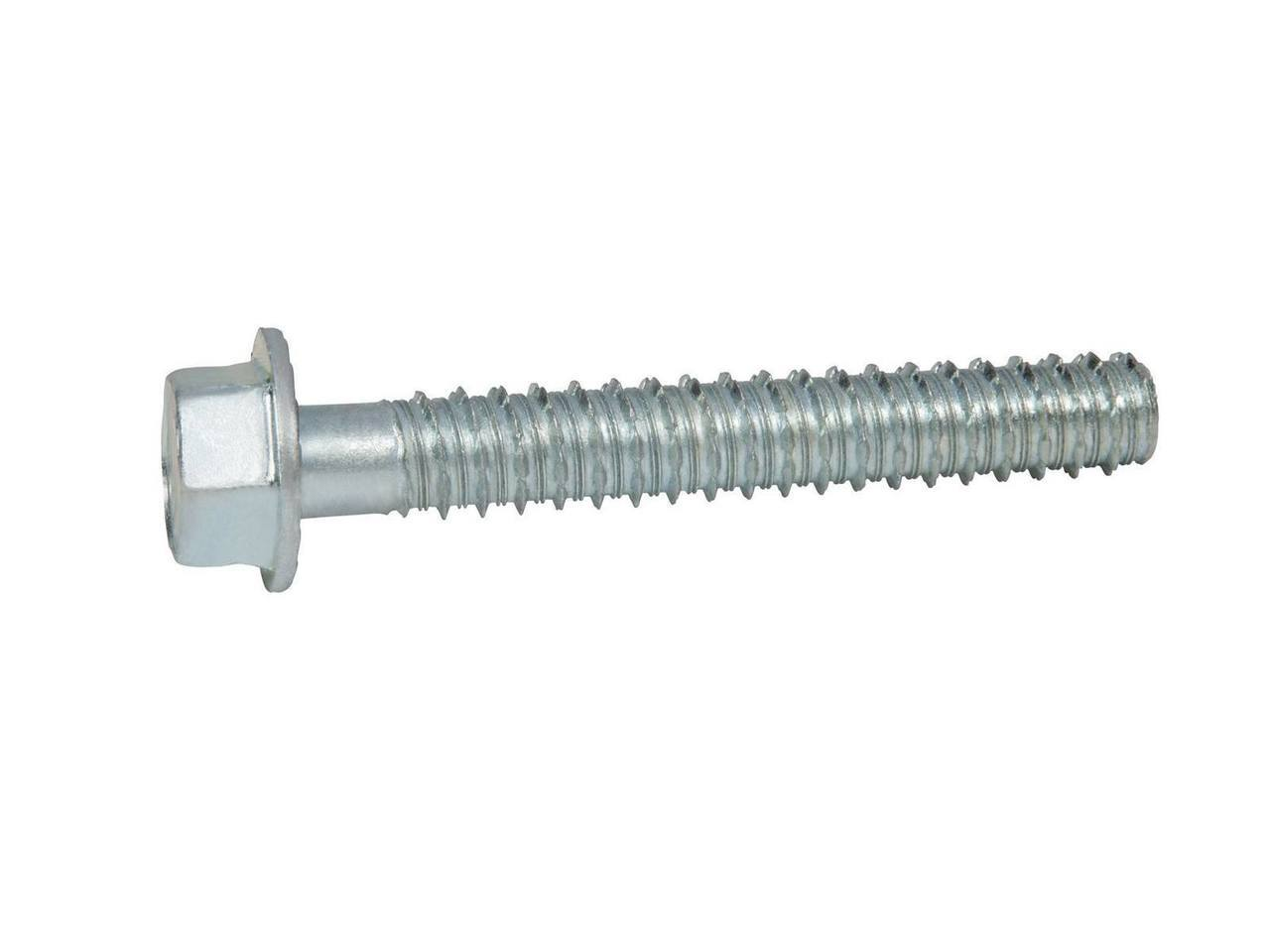 Block or Brick 50 per Box CONFAST 1//4 x 1-1//4 Concrete Screws 410 Stainless Steel Hex with Concrete Drill Bit for Anchoring to Masonry