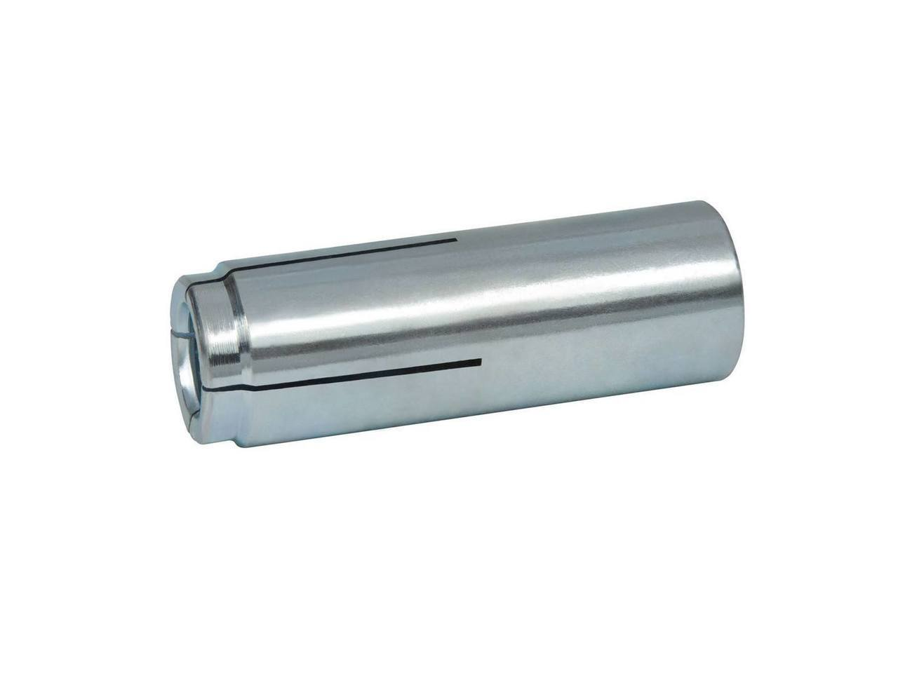 Lipped Carbon Steel Zinc Plated 50//Bx Powers Flanged Dropin Internally Threaded Expansion Anchors 3//8