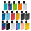 OVNS JC01 Pod kitcomes with slim card-shaped appearance which is portable and comfortable to hold in hand. The JC01 Battery is compatible with JC01 Ceramic Tank, JC01 E-liquid Pods and JUL Pods. Both of them can hold 0.7ml liquid. TheCeramicTank uses Ceramic coil to ensure long lifespan and purer taste. The JC01 battery has 400mah built-in capacity. When JC01 is working, No.4 LED light will be on. The above 3 LED lights are power indicator. The smart MCU chipset brings better instant inhale experience.