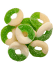 BD Sour Apple Rings with  fast-acting benefits of nano-amplified CBD. Safe, gentle, and effective, this formulation provides naturally occurring antioxidants to support a healthy endocannabinoid system. This formula and all Creating Better Days formulas are 100% THC-free and non-psychoactive.
