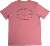 The Kava Kava Tee - T-Shirt  Kava Kava has a rich traditional history originating from the Pacific Islands. The shirt is pink to represent Kava Kava's use in rituals and ceremonies that encourage a blissful state of mind.