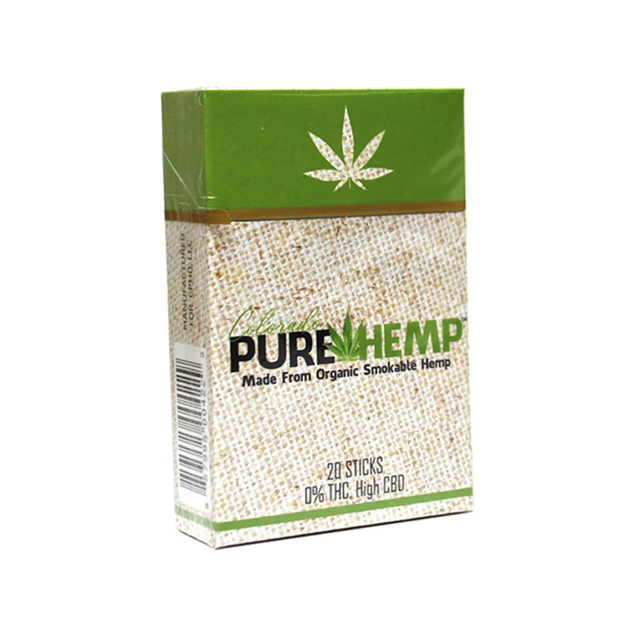 Colorado Pure Hemp is an unique product in the market right now. With less than 0.3% THC and a unique flavor profile made from smokable Hemp, it's the next big thing.We use Organic Smokable Hemp flowers that are full of CBD and a variety of terpenes for maximum results. Although containing other cannabinoids, there is less than 0.3% THC in every product.