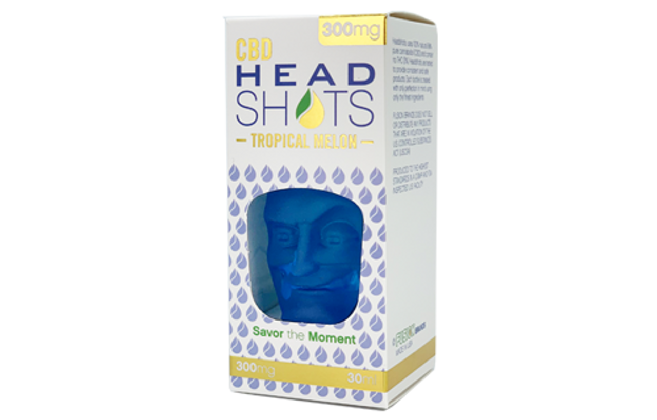 CBD Fusion Headshots uses 100% natural 99% pure cannabidiol (CBD) and contain no THC (0%). Headshots are tested to provide consistent and safe products, CBD Fusion Tropical Melon Headshots 300mg - CBD Fusion Brands, Tropical Melon 300mg CBD Oil by CBD Head Shots is a flavorful rendition of juicy mouth-watering watermelon with a medley of tropical fruits, Tropical Melon 300mg CBD Oil by CBD Head Shots   PremiumCBDSupply