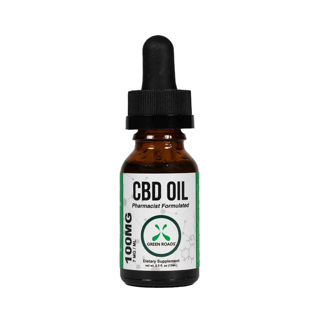 Green Roads 100 mg CBD Oil is a low dosage of cannabidiol oil perfect for CBD beginners or for those who have established their preferred daily amount of CBD