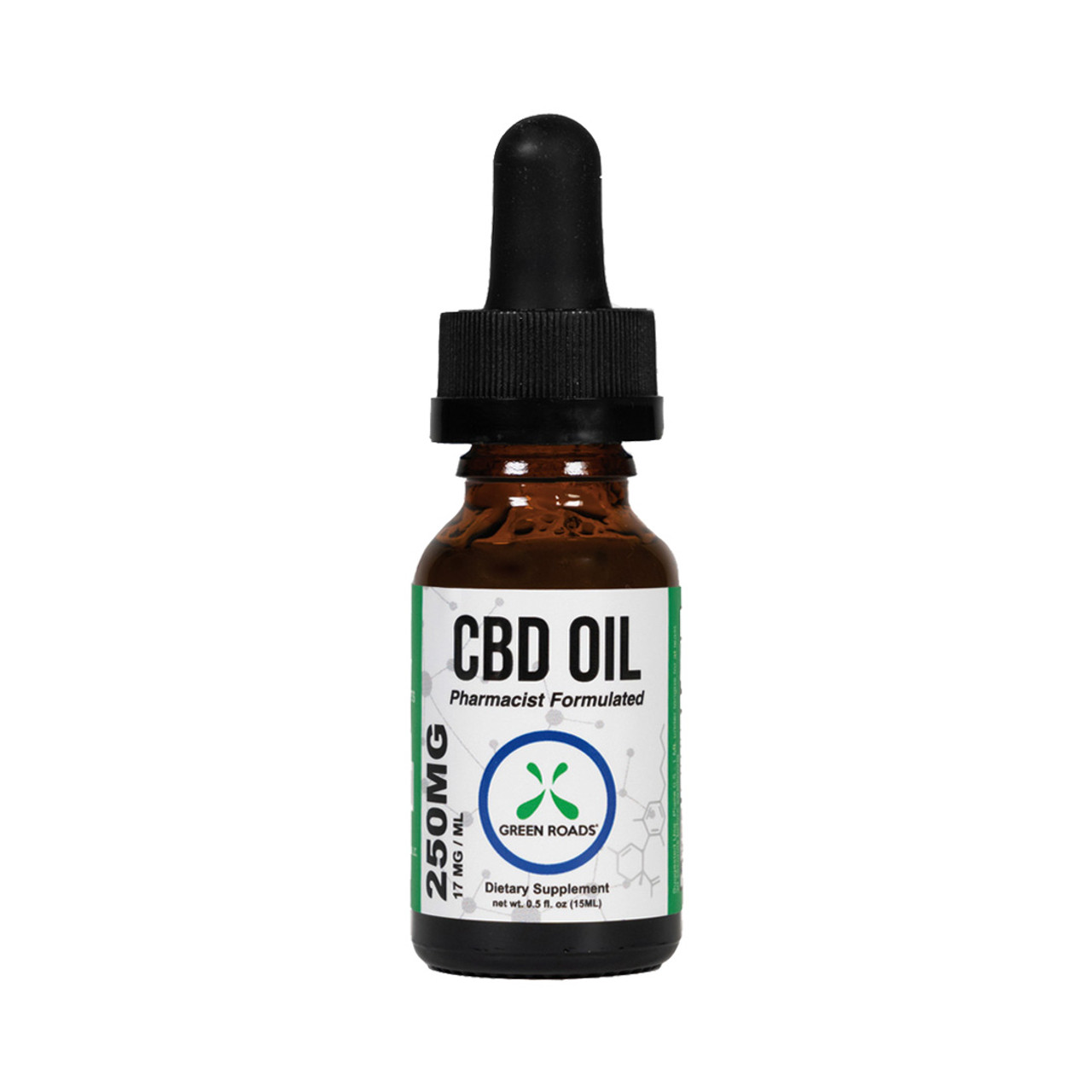 Green Roads 250 mg CBD Oil is a low dosage of cannabidiol oil perfect for CBD beginners or for those who have established their preferred daily amount of CBD