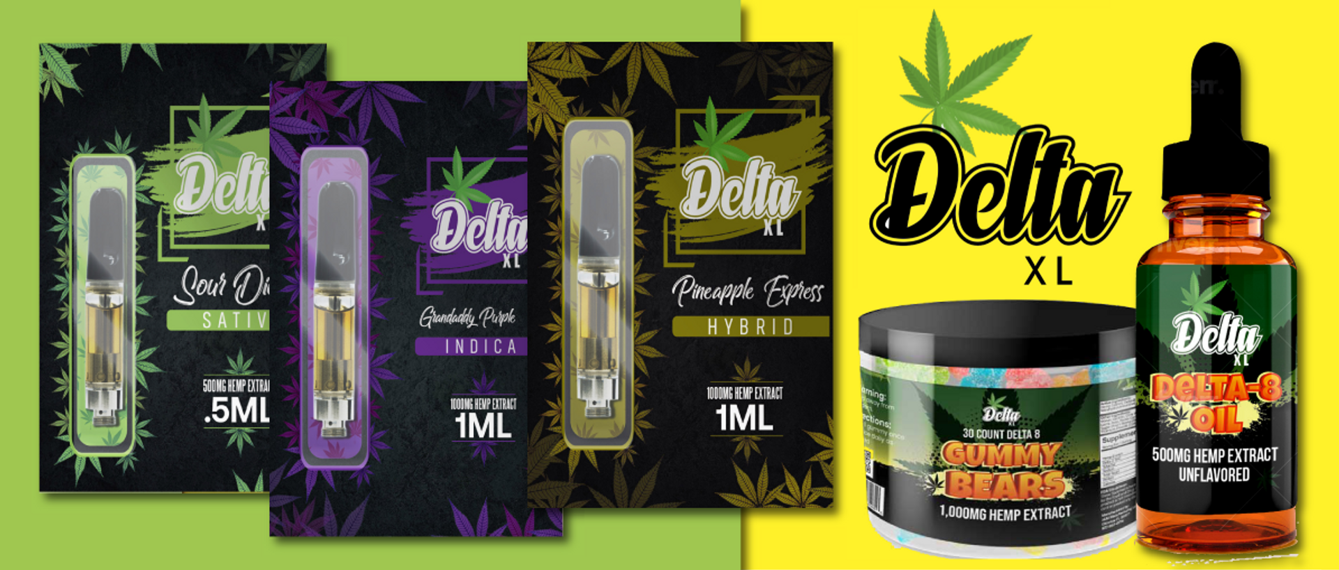 Crafted with passion, knowledge, and years of expertise, Delta XL Pure D8 Products are formulated with Delta 8 THC distillate providing an uplifting yet relaxing effect. Carefully formulated and manufactured in our state approved facility, you can rest as