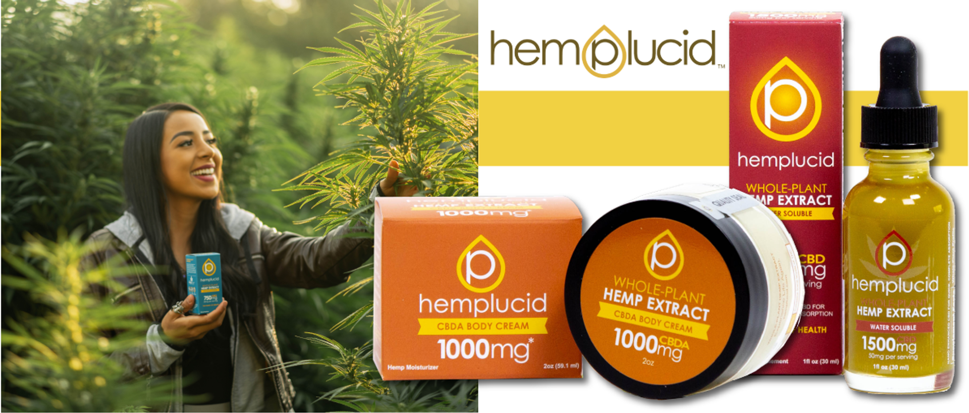 Hemplucid provides the highest quality whole-plant CBD products on the market. Hemplucid not only offers the best products, we also provide the best information.