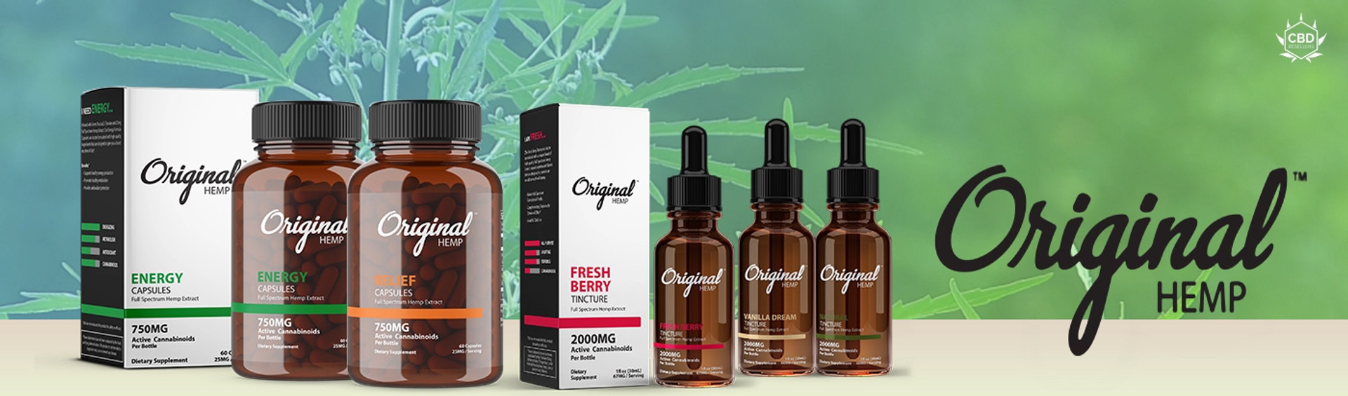 Original Hemp by Arise Bioscience Go above and beyond in everything we do from ingredient sourcing to formulating, manufacturing, testing, and educating. We're driven by the ultimate goal of bringing you the full line up of Original Hemp CBD products that