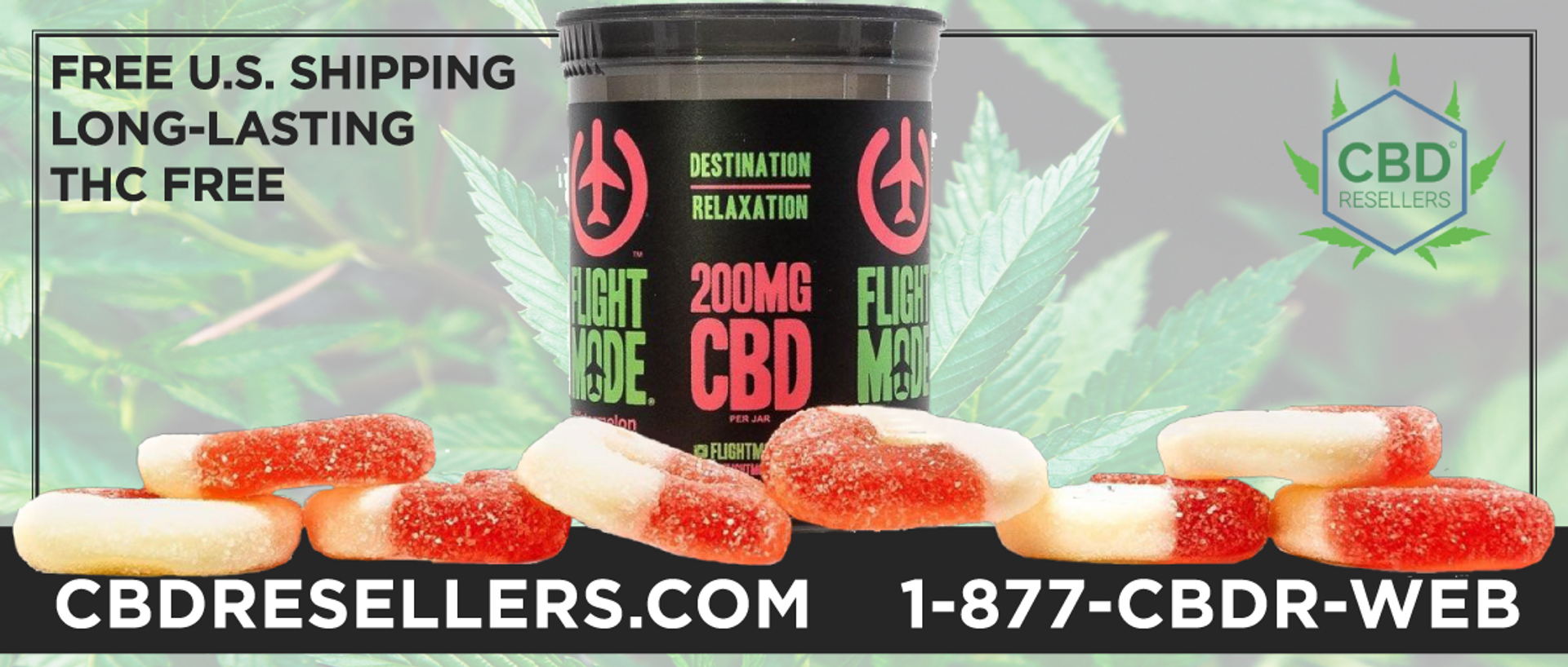 At CBDResellers.com, we only Partner with Brands such as Flight Mode CBD.  Knowing the company and owners well, allows us to know how important quality and values are to Flight Mode CBD as these factors are to us. Try them today and you will know why we b
