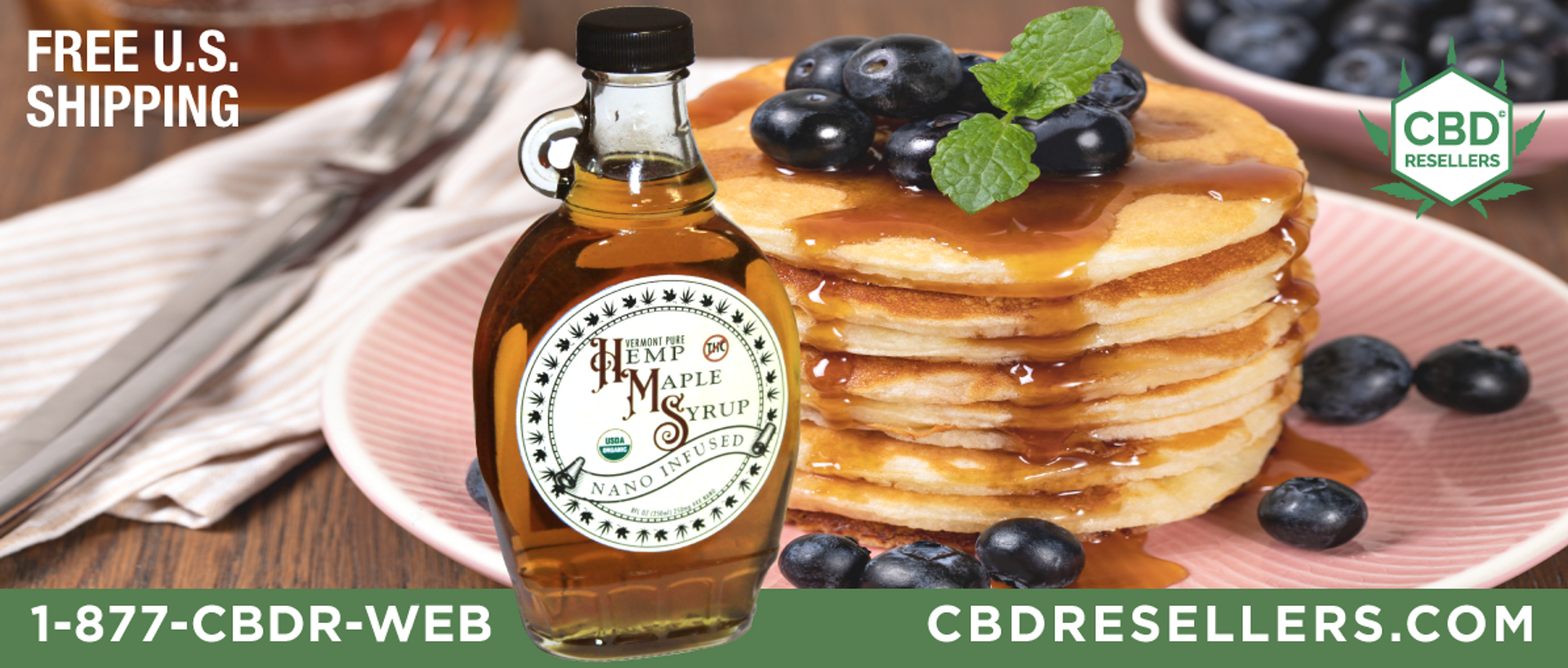 100% Pure Vermont Made Organic Maple Syrup.  We are currently making Grade A Light Amber & Grade A Dark Amber using  the highest quality USDA Organic Pure Maple Syrup On CBDResellers.com
