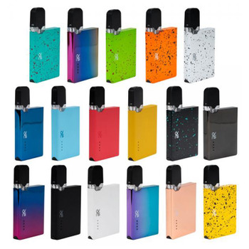 OVNS JC01 Pod kit comes with slim card-shaped appearance which is portable and comfortable to hold in hand. The JC01 Battery is compatible with JC01 Ceramic Tank, JC01 E-liquid Pods and JUL Pods. Both of them can hold 0.7ml liquid. The Ceramic Tank uses Ceramic coil to ensure long lifespan and purer taste. The JC01 battery has 400mah built-in capacity. When JC01 is working, No.4 LED light will be on. The above 3 LED lights are power indicator. The smart MCU chipset brings better instant inhale experience.