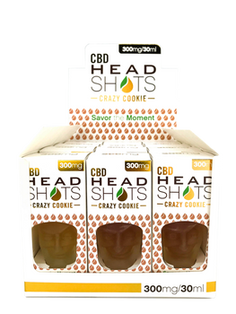 "CBD Headshots uses 100% natural 99% pure cannabidiol (CBD) and contain no THC (0%). Headshots are tested to provide consistent and safe products, CBD Fusion Crazy Cookie Headshots 300mg - CBD Fusion Brands, Crazy Cookie 300mg CBD Oil by CBD Head Shots is a flavorful rendition of a butter pecan cookie infused with toffee vanilla cream and caramel drizzle, CBD Fusion Headshots uses 100% natural 99% pure cannabidiol (CBD) and contain no THC (0%). Headshots are tested to provide consistent and safe products.""/> <meta property=""og:url"" content=""https://cbdfusionbrands.com/product/300mg-cbd-crazy-cookie-headshots-12-pack, CBD Fusion Crazy Cookie Headshots 300mg (12 Pack) - CBD Fusion Brands"