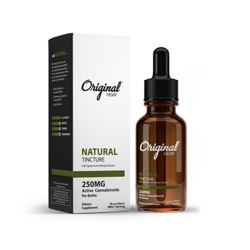Our Natural Tincture is doctor formulated with a unique blend of high-quality Full Spectrum Hemp Extract, natural terpenes, and flavors that are designed to promote an overall sense of well-being.