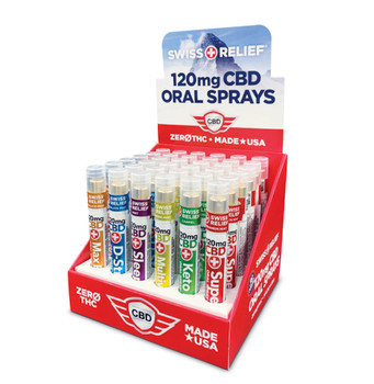 These pocket-sized CBD oral sprays are powered by a combination of nutrients to help with a number of situations, from stress to sleep*, on the go. Each delivers 120 mg hemp-derived CBD.