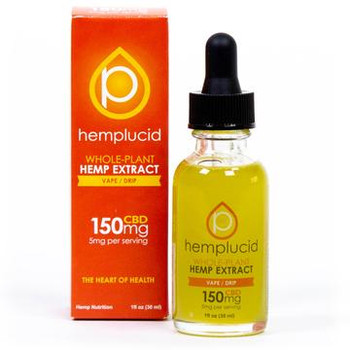 "Hemplucid's Vape product is thick and can be quick to burn in some high-powered devices. We recommend using a vape device with variable voltage or variable wattage capabilities and starting at a low power mode. For best results, pair the device with a tank/coil system designed for high or ""max"" VG."