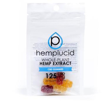 Hemplucid CBD Gummies contain 25mg of full spectrum CBD oil per gummy. Our CBD oil concentrate is ultra-refined and de-waxed for maximum bio-availability