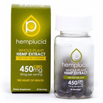 Hemplucid's Whole-Plant CBD without the hempy aftertaste in an easy to swallow form. These full-spectrum gel caps contain cannabinoids and terpenes that are missing from our diets.