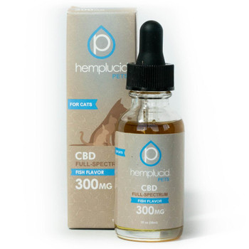 his Hemplucid Pets CBD tincture is made with organic full-spectrum CBD and nutritious fish oil. Organic full-spectrum CBD Formulated for small to medium pets Can be mixed with food or given orally USA grown and manufactured